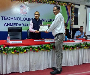 GTU annual Project Fair Award to BVM