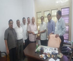 BVM Alumni M72 Er Dhirenbhai Kamdar contributed 1.21 cr. towards BVM Endowment fund