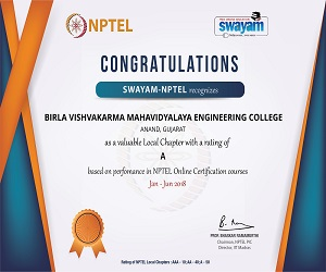 SWAYAM-NPTEL recognizes BVM