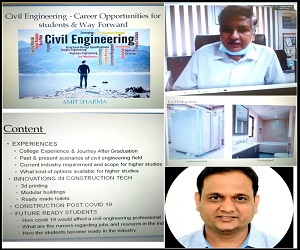 Webinar on CIVIL ENGINEERING CAREER OPPORTUNITIES POST COVID 19